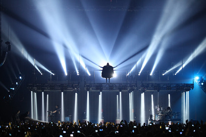bombastisch - Fotos: Thirty Seconds To Mars in der Festhalle Frankfurt